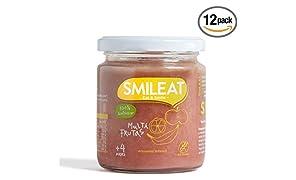 Smileat - Potito de Multifrutas - 230 gr - [Pack de 12]