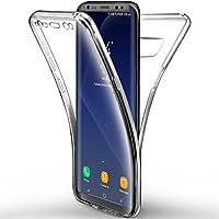 Colore puro e corpo ultra-sottile conserva la vera sensazione di smartphone e la sua bellezza originaria. Soprattutto per Samsung Galaxy S8, fornendo una sensazione impeccabile e ti rende più facile. I recessi scafo perfettamente progettati p...