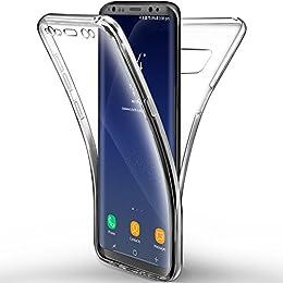 """Funda Galaxy S8 cover , Leathlux Ultra Delgado de silicona transparente Resistente Anti-Arañazos Protección Soft TPU Carcasa protectora de parachoques trasero case para Samsung Galaxy S8 5.8"""""""