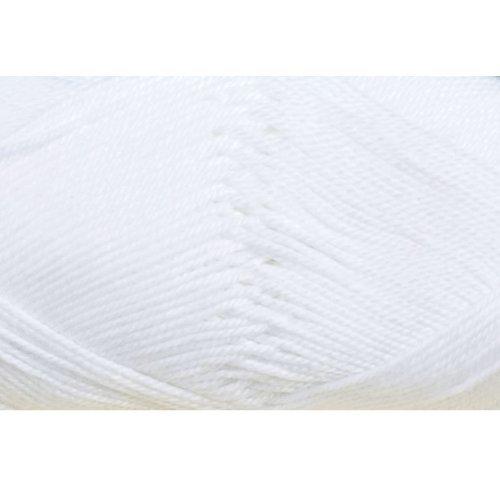 Cotton Quick Gründl Wolle 100 % Baumwolle 50 g Farbe 01 -