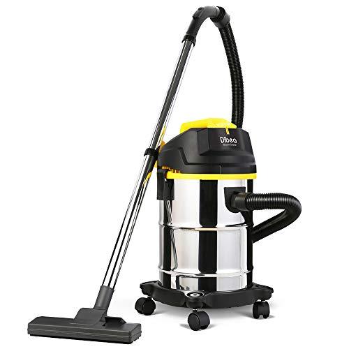 Modenny Aspirador de Uso doméstico Aspirador de Gran Capacidad Tipo de Barril Aspirador seco húmedo...