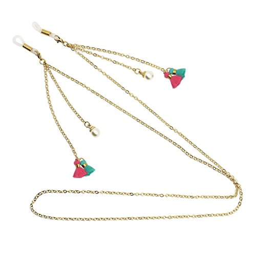 Baoblaze Elegante Brille Lesebrille Sonnenbrille Halter Halskette Kette Strap String Chain - 76 cm - # 1