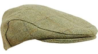 G5 Apparel - Casquette B25 Derby Plate Carreaux Tweed Clair Recouverte En Teflon - Taille XL - 60 cm