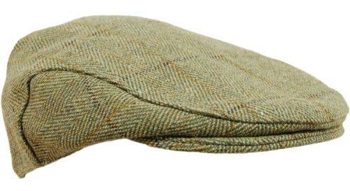 new-childrens-boys-girls-derby-tweed-flat-cap-teflon-coated-hat-kids