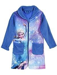 28fcc79865 Trendstern Trendprodukteshop Frozen *Die Eiskönigin* Anna und ELSA Mädchen  Coral Fleece Bademantel + EXTRA