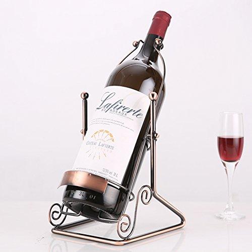Größe 1,5L 3L 5L Weinregal,Ornamente Home Wohnzimmer Modern Einfach Kreativ Weinflaschenhalter-1...