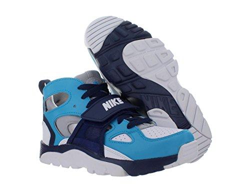 Nike Trainer Huarache (Gs), Scarpe da Escursionismo Bambino BLUE LEGION/WHITE-WOLF GREY-MID NAVY