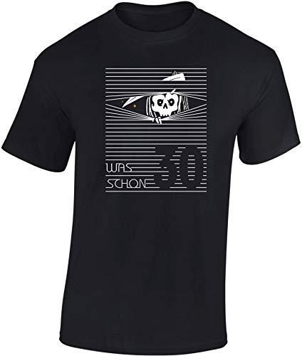 T-Shirt: was? Schon 30 Jahre? Geburtstag - Jahrgang 1989 - Fun-Shirt - Geburtstags-Geschenk - Männer Frau-en - Damen Herren - Lustig - Birthday -Dreißig-Ster (S) (Billig Party-ideen Geburtstag Teens Für)