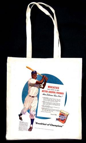 wheaties-cereal-advert-jackie-robinson-baseball-tote-bag