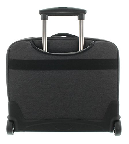 Franky BT6 2-Rollen Businesstrolley 44 cm Laptopfach Anthrazit