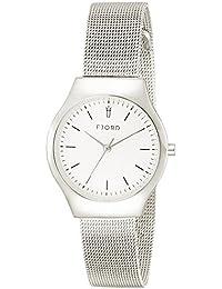 Fjord Analog White Dial Women's Watch- FJ-6036-022