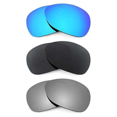 Revant Ersatzlinsen für Oakley Crosshair (2012) Polarisiert 3 Paar Kombipack K015