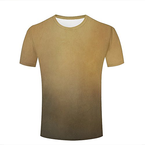 35ec29c7c2 Mens Casual Design 3D Printed Vintage style brown abstract Graphic Short  Sleeve Couple T-Shirts