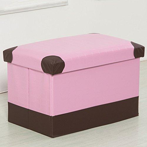 Rechteckiger Stehhocker / Stehend Hocker / Sitzerhöhung für Erwachsene Hocker / Stauraum für Staukästen Zusammenklappbarer Hocker für Spielzeugorganisatoren ( Farbe : 7 , größe : 40*25*25cm )