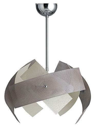 Lampadario Camera 6 Luci Avorio Tortora Moderno per Cucina Salone Camera da Letto Camerette