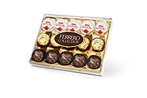 Ferrero Rocher Assorted Chocolates - 15 Pieces - With 2 Natural Yellow Led Diya