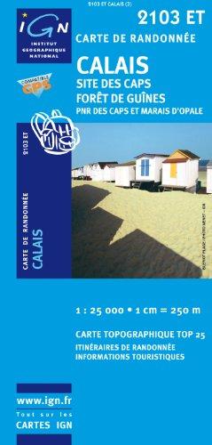 Calais Site Des Caps/Foret De Guines PNR GPS