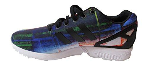 Adidas Zx Flux pattini correnti del mens formatori Sneakers (UK 10.5 Us 11 Eu 45 1/3, Ftwwht / peagr RED/CBLACK/FTWWHT S31620