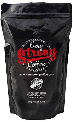 e272bb05f7a Very Strong Coffee 500g - Whole Beans - 100% ROBUSTA Coffee - Twice The  Caffeine
