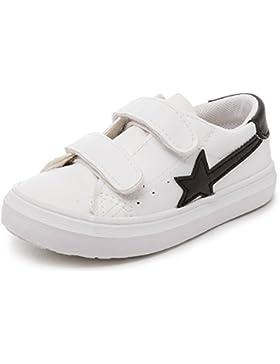Alexis Leroy Jungen Star Low-Top Turnschuhe Klettverschluss Sneakers