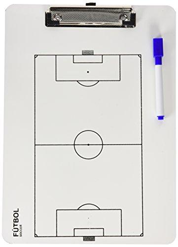 Softee Equipment Carpeta Táctiva Veleda Futbol Blanca