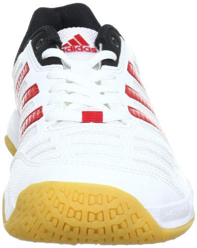 adidas Performance Essence 10 V21043 Herren Hallenschuhe Weiß (RUNNING WHITE FTW / LIGHT SCARLET / BLACK 1)