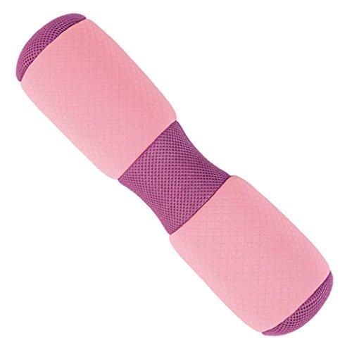 Homyl Rosa Soft Faszienrolle Massagerolle Fitnessrolle Schaumstoffrolle Zur Yoga Unterstützung, 37cm