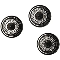 Burton - Corchetes antideslizantes de aluminio para tabla de snowboard (talla única), color negro