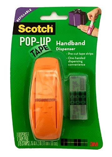 Scotch Pop-Up Handband Dispensador Cinta Naranja