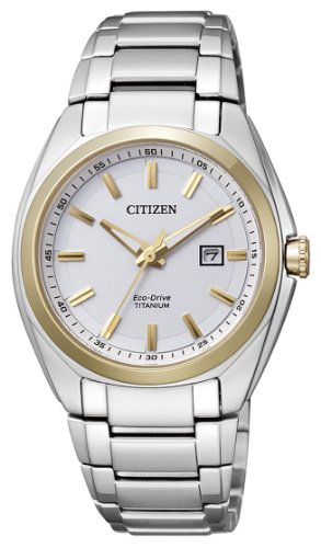 Citizen supertitanio eco drive ew2214-52a - orologio da polso donna