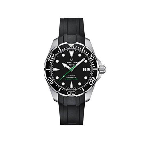 Certina DS Action Diver Herren-Armbanduhr 43mm Automatik C032.407.17.051.00