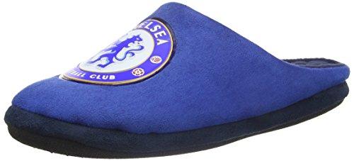 Bafiz Chelsea Game, Pantofole Uomo, Blu (Blue/Navy 34U), 46 EU