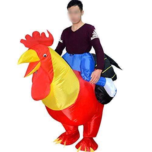 80605 GUIRCA Costume vestito gallina animali carnevale uomo donna adulto mod