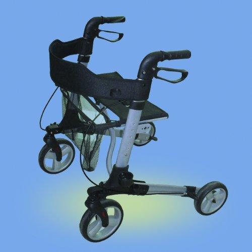 Rollator Leichtgewicht Komplett-Set mit Gurt und S...