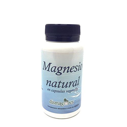 Magnesio natural en capsulas vegetales (producto vegano) Complemento...