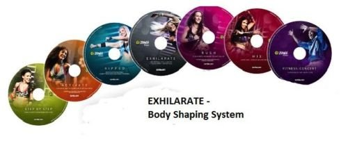Zumba Exhilarate 7 DVD\'s inkl. Ernährungsberater