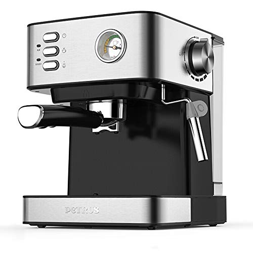 KFJZGZZ Halbautomatische Kaffeemaschine Espresso Italienisch Gedämpfter Kaffee Haushalt Und Kommerzielle Kleine Dampfschaum Optisches Thermometer - Kommerzielle Espresso-maschine
