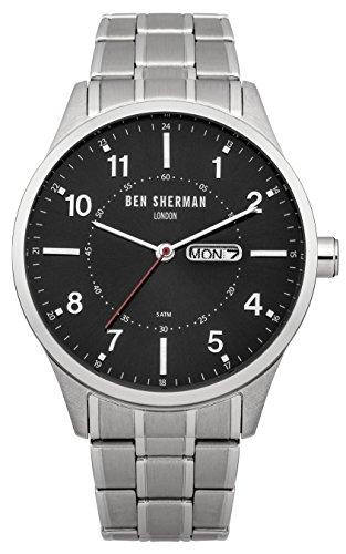 ben-sherman-wb002bm-reloj-de-pulsera-hombre-acero-inoxidable-color-plateado