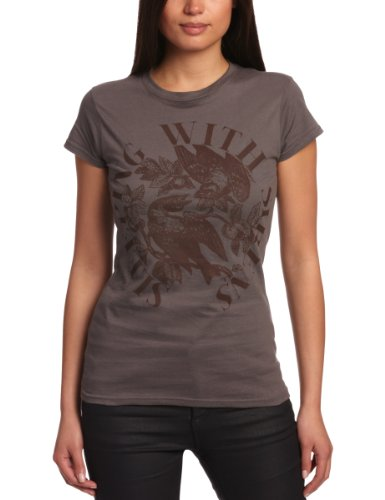 Plastic Head Damen T-shirt   - Grau - Grey - X-Large -