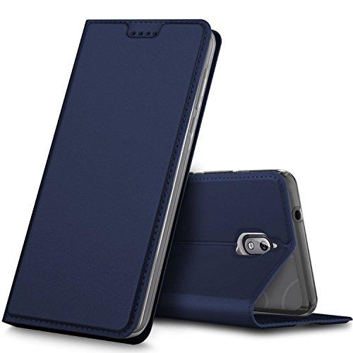GeeMai Nokia 3.1 Hülle, Nokia 3 2018 Hülle, Premium Leder Hülle Flip Case Tasche Cover Hüllen mit Magnetverschluss Standfunktion Schutzhülle handyhüllen für Nokia 3.1 2018 phone