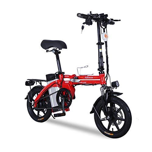 HHORD Bicicleta Eléctrica Plegable 750W 48V 13Ah