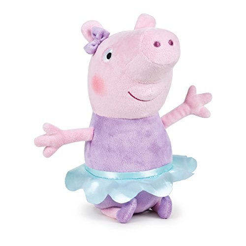Play by Play Ousdy - Peluches personajes de Peppa Pig 760015670 (PEPPA PIG BAILARINA)
