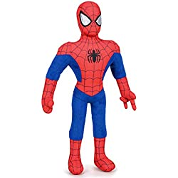 Ousdy Marvel Spiderman Peluche Plush,45CM Regular Play by Play (45CM, Azul)