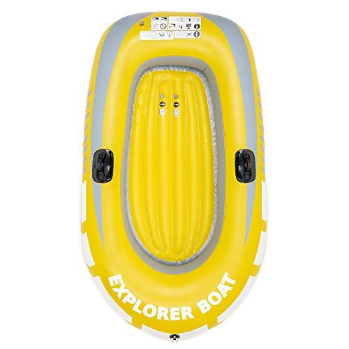 Barca Hinchable, Lancha Bote Inflable para Niños,150x100cm - Fácil de Inflar y...