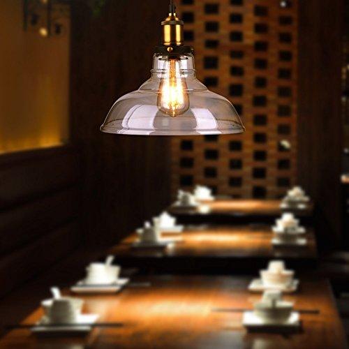 Edison Vintage LED-Lampe Oak Leaf Glühbirne, dimmbar Ersetzt 25W warmweiß - 2700K 330 Lumen [Energieklasse A+] -