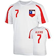 UKSoccershop Chile Sports Training Jersey (Alexis 7) - Kids