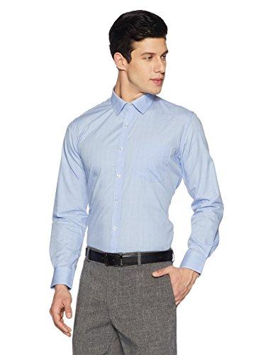 Symbol Amazon Brand Men's Formal Slim Fit Shirt (S17MBS192_40_Lilac)