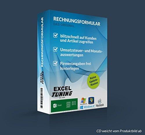 Excel-Tuning Rechnungsformular