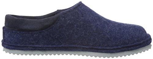 Haflinger Unisex-Erwachsene Smart Pantoffeln Blau (Jeans 72)