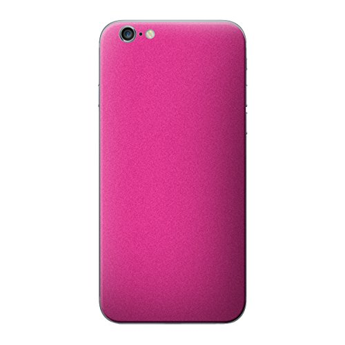 Cruzerlite Antibacterial Skin for the Apple iPhone 6 Plus - Retail Packaging - Yellow (Back Only) Pink
